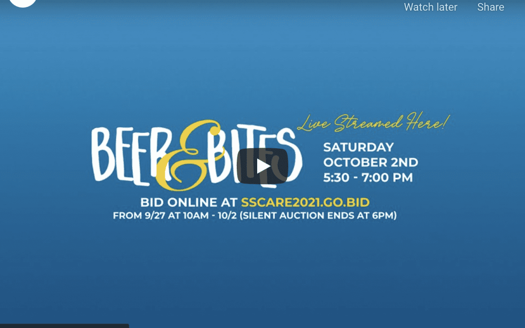 Beer & Bites 2021 Live Event